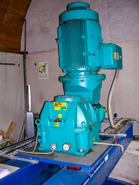 Der Generator macht aus Bewegung Strom