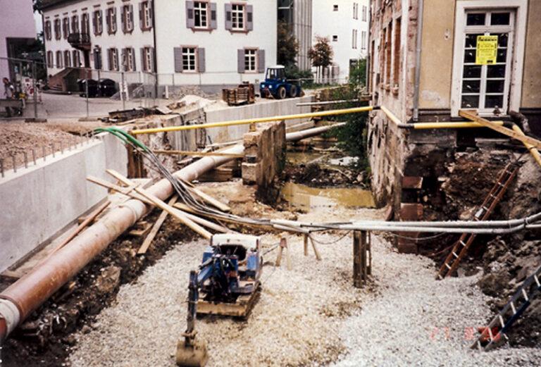 Baustelle am Tor